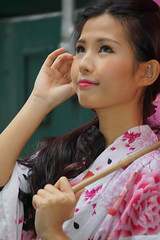 DSC09322 (rickytanghkg) Tags: pink beautiful female train asian hongkong japanese model chinese railway belle prettylady sonya7r
