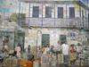 Mural Sinú (Alveart) Tags: colombia cordoba latinoamerica caribe suramerica lorica islafuerte regioncaribe alveart luisalveart santacruzdelorica pueblopatrimonio sinuislafuerte