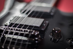 ESP Horizon guitar (L'Teigneux) Tags: black guitar horizon esp guitare emg blackgloss ntii