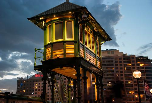 Watch Tower, Pyrmont Bridge