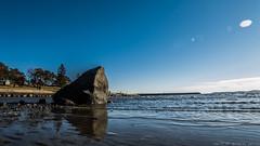 The rock (SomethingNature) Tags: ocean sun shells beach nature water norway norge spring skies sunny february tønsberg skjell ringshaugstranda ringshaug