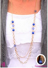Glimpse of Malibu Blue Necklace K2A P2720A-2