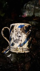 Abandoned Education! (Michelle O'Connell Photography) Tags: abandoned cup garden lost scotland education glasgow mug drumchapel leftbehind glasgowscotland glasgowschool kelvinsideacademy drumchapelglasgow michelleoconnellphotography