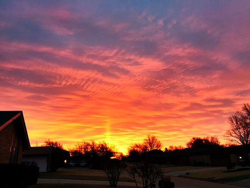 Spectacular Oklahoma sunrise by Wesley Fryer, on Flickr