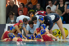 PC161532 (roel.ubels) Tags: world dutch sport spain utrecht nederland league spanje oranje waterpolo krommerijn zwemmen topsport