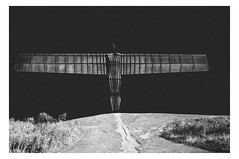 theangel (Clive Varley) Tags: mono gimp gateshead angels layers darkskies nikond90 gmicunsharpmask gmicframes gmicdodgeandburn