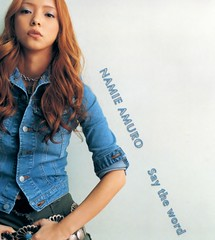 2001.08.08_Say-the-word-CD_cover_01 (Namie Amuro Live ) Tags: namie amuro cover singlecover  saytheword