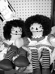 IMG_3587 (Mat_B) Tags: winter white black andy mall hair illinois doll antique retro haunted spooky volo ann antiques raggedy stiches 2015