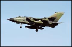 44+56 - Karup Air Base (KRP) 04.09.2000 (Jakob_DK) Tags: 2000 bae tornado gaf ids luftwaffe ekka panavia germanairforce karup krp 4456 tornadoids