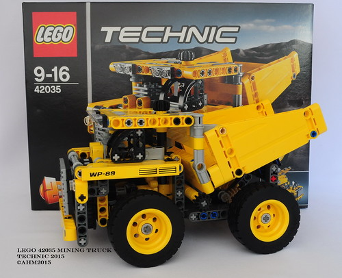 Lego Technic 42035 Mining Truck - a photo on Flickriver