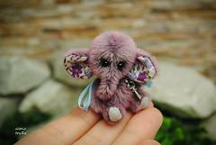 lola07 (altair toyZZ) Tags: bear elephant miniature teddy handmade ooak mini altair toyzz
