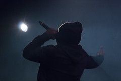 (mc_mathys) Tags: light music night concert raw dj colours song son demi portion hip hop rap lille musique cecu