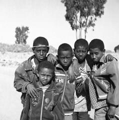 Young Ethiopia at Hawzen (Felipe Cárdenas-Támara) Tags: rolleiflexautomat6x6modelk4a rolleiflexjune1951march1954 rolleiflextlr rolleiflex ilfordpanf50plus zeissjenatessar3575 analogphotography analoguephotography ethiopia etiopía mediumformat colombianphotographers felipecárdenastámara hawzen felipecardenasphotography