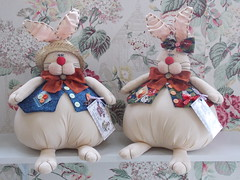 Casal gordinho (Sonhos de Tecido) Tags: artesanato coelhos pascoa