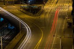 Seattle After Dark - #NightRide 2014 (Paul Sabovik) Tags: seattle longexposure nightphotography travel sunset lightpainting ferry canon timelapse downtown nw cityscape adventure spaceneedle sodo cityskyline smithtower nightride clink columbiatower kingststation 60d seattlegreatwheel saboviktravel paulsabovik