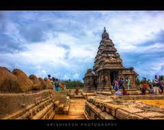 Shore temple - Mahabalipuram (nshrishikesh) Tags: canon temple photography amazing photographer photographie awesome shore photowalk 1855 chennai hdr mahabalipuram 18mm canon600d