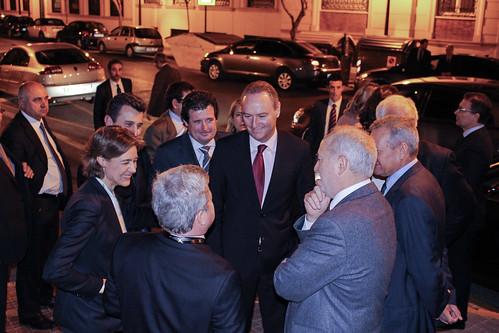 Diálogo con el President Fabra y la Ministra García Tejerina