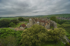 Carisbrooke Castle (y.mihov, Big Thanks for more than a million views) Tags: old travel trees building castle architecture last sightseeing sigma tourist isleofwight trespass carisbrooke sonyalpha difence