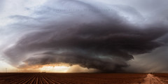Ackerly (Mike Olbinski Photography) Tags: sunset rain hail clouds texas panoramic lamesa farms thunderstorm roads stormchasing supercells canon1635mm28l 20160531