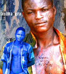black soul (yrotori2) Tags: africa portrait texture face collage photoshop colore african photoshopped persone afrika ritratto primopiano visage afrique faccia volto scritte
