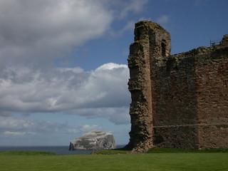 Tantallon Castle & Bass Rock