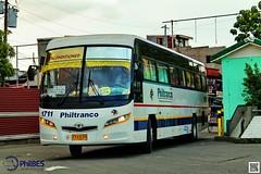 Approaching (von241) Tags: philtranco philtranco1711 daewoo bus philippinebus philippinebuses philbes
