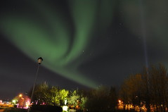 Iceland - Aurora Borealis (Adeline Kristjánsdóttir) Tags: auroreboreale ciel couleur lumire nuit paysage reykjavik lumière