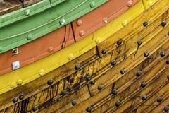 The beautiful hull of the Draken Harald Harfarge (TAC.Photography) Tags: color vikingship oak woodplanking tallships