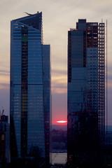 Another Henge? (johnruscombe1965) Tags: 10hudsonyards building construction evening glass glasstowers henge hudsonyardsdevelopment hudsonyardsproject manhattan manhattanhenge midtownmanhattan newyorkcity sunset westside newyork ny unitedstatesofamerica