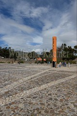 60070665 (wolfgangkaehler) Tags: 2016 southamerica southamerican ecuador ecuadorian quito quitoecuador ecuadorhighlands quitsatoequatormonument cayambe equator equatormarker northernhemisphere southernhemisphere