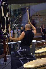 Taiko - Bang (swong95765) Tags: show music man art drums sticks hit drum performance taiko perform bang performer