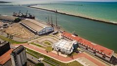 Terminal Marítimo de Passageiros do Porto do Recife. (Thales Paiva) Tags: terminal marítimo de passageiros do porto recife navio escola sagres marinha portuguesa aéreo drone dronepe
