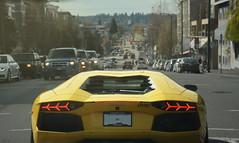 City Vibes (SupercarsofBC) Tags: canada cars vancouver engine british carbon fiber sbc lamborghini exotics supercars v12 2016 columbias aventador lp700
