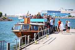 (Sameli) Tags: boat ship water bus sea summer people city helsinki suomi finland
