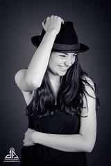 Georgia (jason_ferdinando) Tags: hats pretty girl blackandwhite portrait portrature smiling lifestyle studio lovely sweet happy fun cool stylish