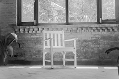 (jonnyherb) Tags: nepal sun white brick chair thought bricks sit provoking thoughtprovoking