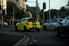 yes, once upon a time (imajane) Tags: dsc6822yesonceuponatime numberplate youegg funny comedy yellow auto road wellington newzealand