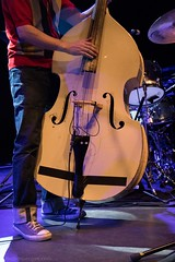 Daniel Meade and the Flying Mules-15 (redrospective) Tags: people music white london closeup musicians concert shoes live gig bassist instruments doublebass musicphotography o2shepherdsbush markferrie 20160715 danielmeadeandtheflyingmules