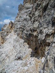Via Ferrata Tomaselli (sgl0jd) Tags: dolomites dolomiti italy italia tirol mountains viaferrata mountaineering lakegarda lagodigarda cortinadampezzo corvarainbadia scrambling climbing