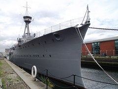 HMS Caroline, Alexandra Dock, Belfast (Whiteabbey71) Tags: hms caroline battle jutland alexandra dock belfast northern ireland national museum royal navy world war one 1 ww1 light cruiser cammell lairds docks heritage lottery fund titanic quarter restored battleship ship