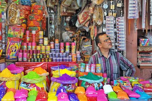 India - Rajasthan - Jaipur - Colour Powder For Holi Festival - 12