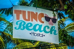 A view of the Tunco Beach Hostal.