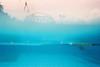 (埃德溫 ourutopia) Tags: film kodak kodakfilm analog waterproof singleusecamera 800 water waves sky swimming swimmingpool blue summer underwater guy man フィルム