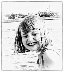 Smile please ! (lizzieisdizzy) Tags: child girl outside happy smiling content