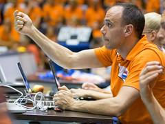 27252126 (roel.ubels) Tags: volleybal volleyball nederland oranje holland zuidkorea southkorea rotterdam topsportcentrum sport topsport 2016