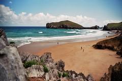 Playa San Martin (Skylark92) Tags: spain asturie espana spanje asturias playa san martin isla almenada beach strand island