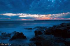 Ogmore (geraintparry) Tags: ogmore bridgend sunset sunsets sky skies cloud clouds south wales sea seas water ocean long exposure exposures rock rocks geraint parry geraintparry