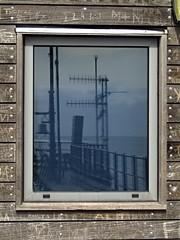 Southend Pier Head, Essex (Steven K. Hearn) Tags: windows pleasurepiers reflections aerials northsea southendonsea essex england southendpier