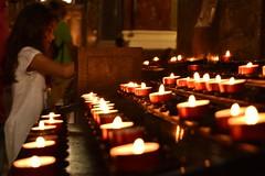 Light up thoughts (norella.giorgia) Tags: bambina luci lights candle candele chiesa church budapest hungary europa ungheria girl nikon d5500 szentistvanbazilika basilicadisantostefano
