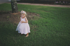Learning to twirl <3 (austinsGG) Tags: 2016 aubrie flowercrown july pinkdress twirl movement freelensed wildradiance softfocus